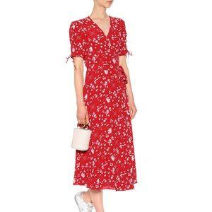 NWOT Polo Ralph Lauren nautical wrap dress